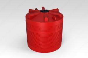 Емкость КАС 5000 литров ЭВЛ с откидной крышкой