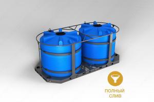 Кассета универсальная транспортная (ЭВЛ 5000 литров x 2 шт.)