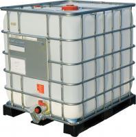 Еврокуб 1000 литров, технический , чистый , кран/крышка - DN 50/225